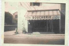 BOUCHERIE chapel dans les années 1959